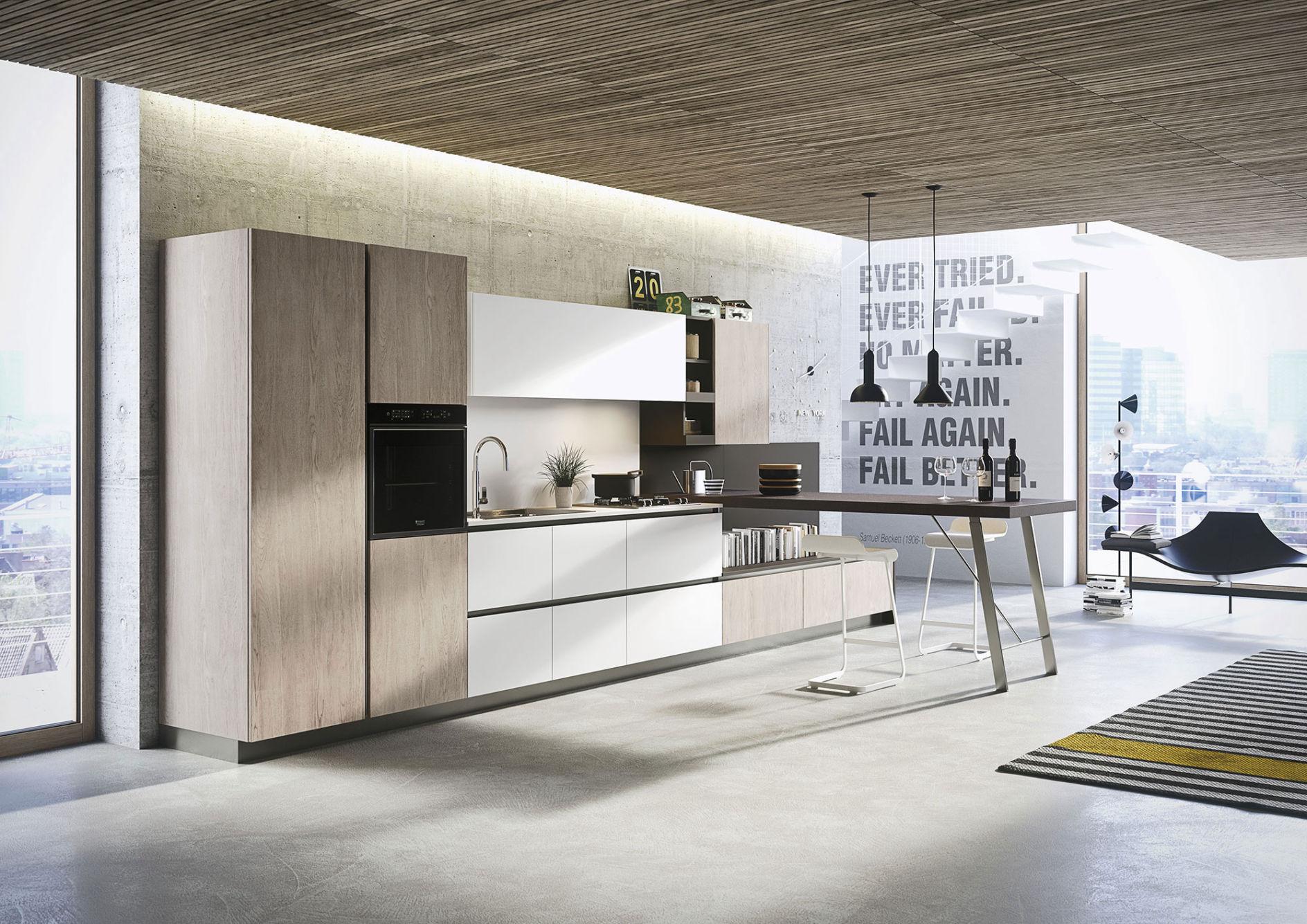 Cuisine Moderne Design Italienne.Installateur Cuisine Snaidero Design A Toulon Var